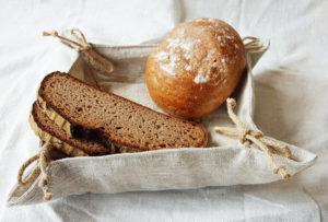 Brotkörbchen_Utensilo aus Leinen_1